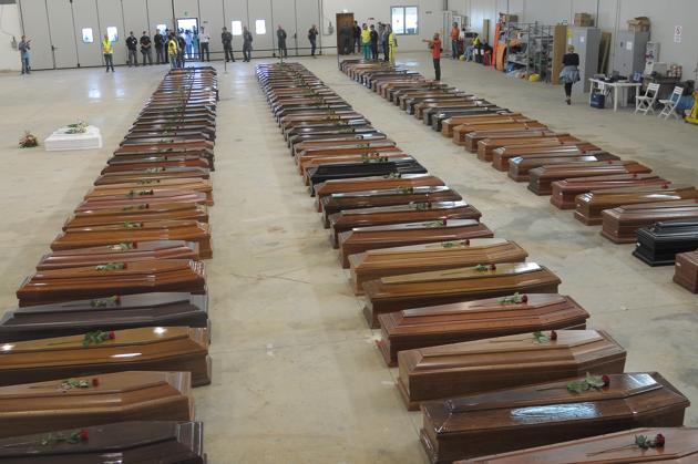 I morti di Lampedusa