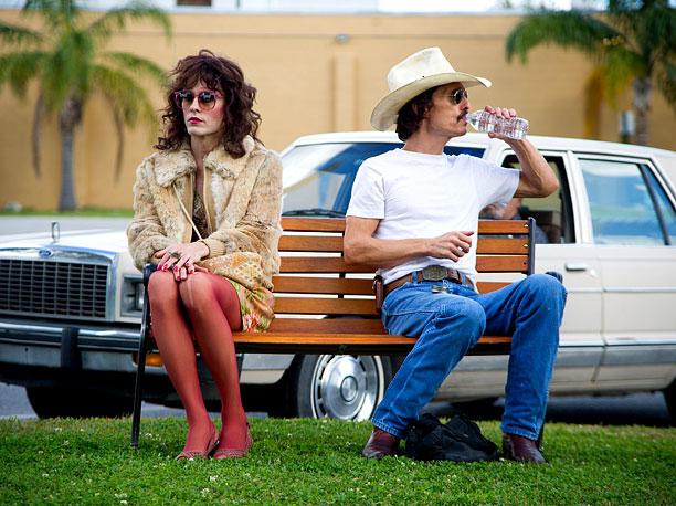 Leto e McConaughey in una scena del film